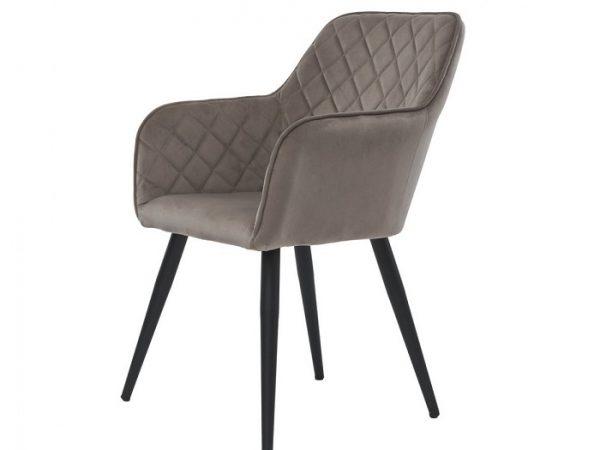 Кресло Антиба пудровый серый