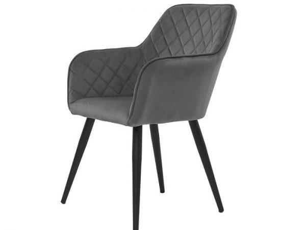 Кресло Антиба темно-серый