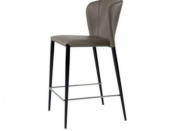 Барный стул Артур пепельно-серый