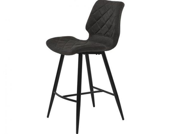 Полубарный стул Даймонд графит оил