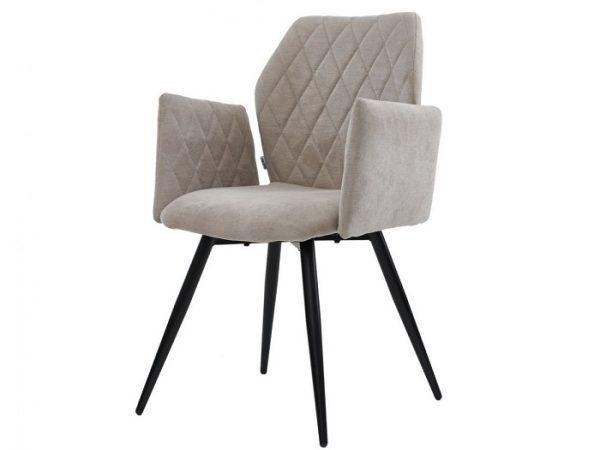 Кресло Глори теплый серый