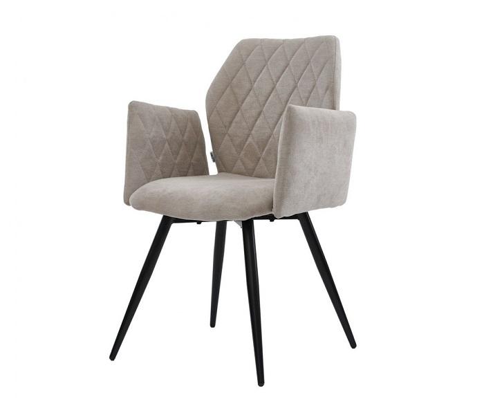 Кресло Глори, цвет теплый серый