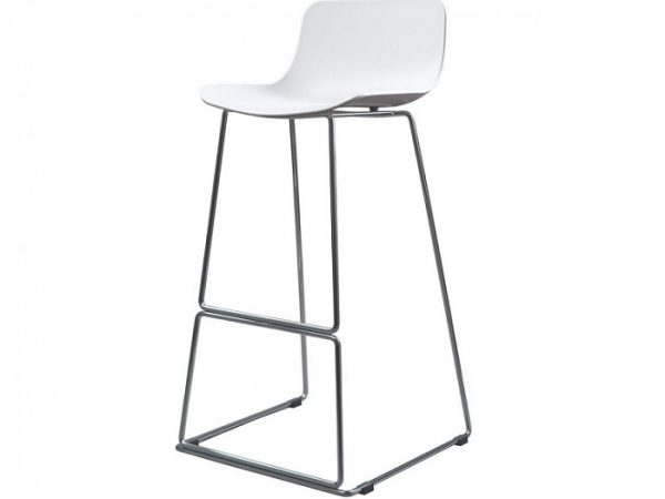 Барный стул Петал белый