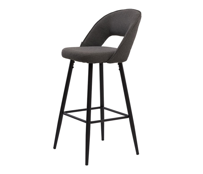Барный стул Тейлор, цвет серый графит
