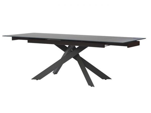 Стол Gracio Matt Grey раскладной стекло 160-240 см