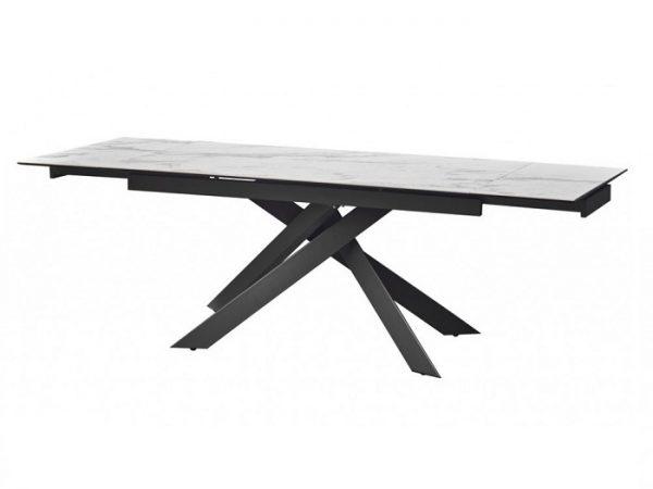 Стол Gracio Light Grey раскладной керамика 160-240 см