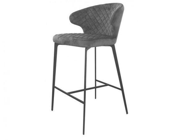 Полубарный стул Кин стил грей
