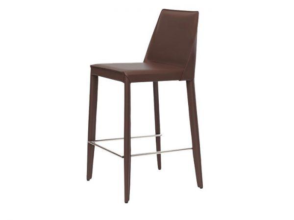 Полубарный стул Марко темно-коричневый