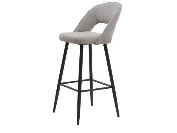 Барный стул Тейлор серый