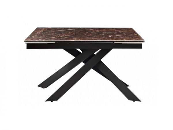 Стол Gracio Imperial Brown раскладной керамика 160-240 см
