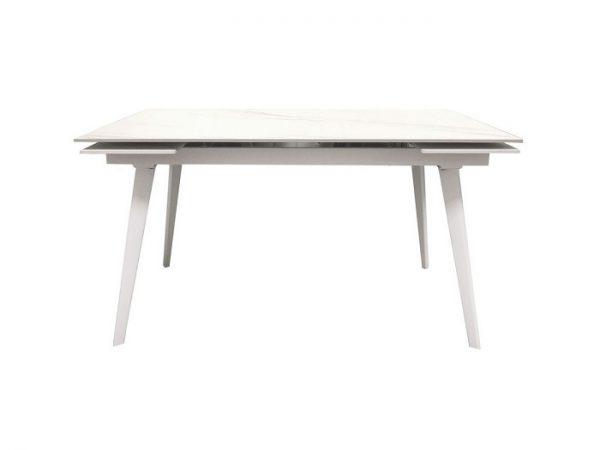 Стол Hugo Carrara White раскладной керамика 140-200 см