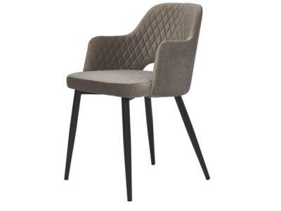 Кресло Джой теплый серый