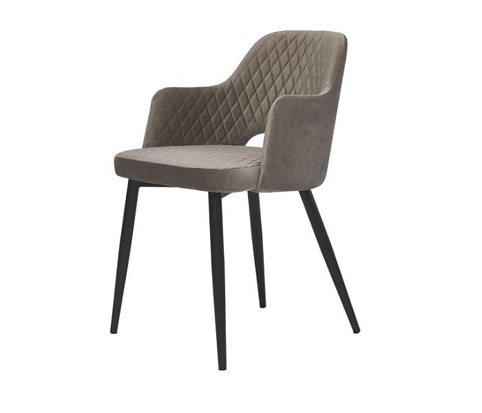 Кресло Джой, цвет теплый серый