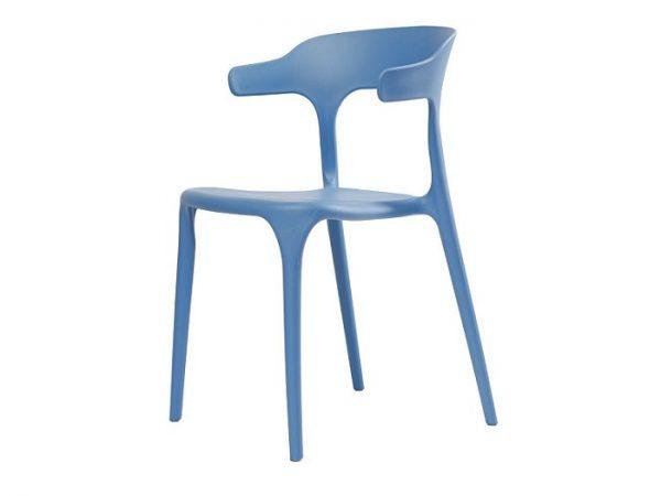 Стул Lucky (Лаки) пластиковый голубой