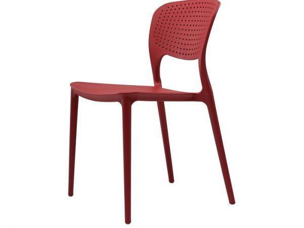 Стул Spark (Спарк) пластиковый красный кармин