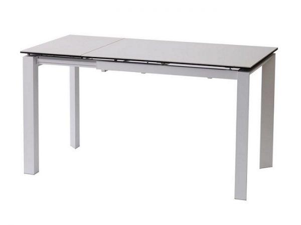 Стол Bright Pure White керамический  102-142 см