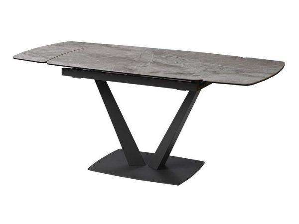 Стол Elvi Light Grey керамический 120-180см светло-серый