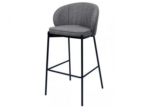 Полубарный стул Laguna серый графит