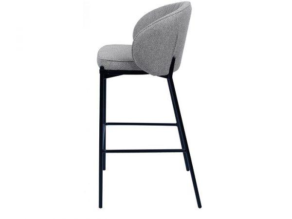 Полубарный стул Laguna серый