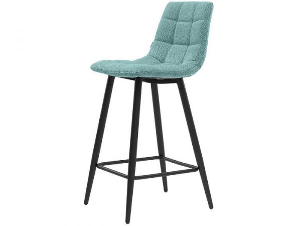 Полубарный стул Glen аквамарин