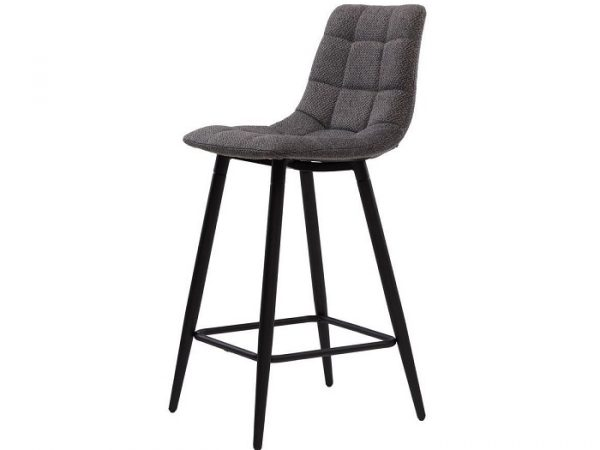 Полубарный стул Glen серый графит